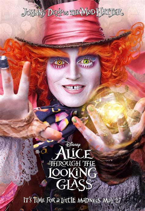 Alice Through the Looking Glass (2016) Poster #1 - Trailer